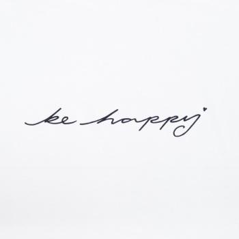 Chalk UK Robyn Top - White - Be Happy