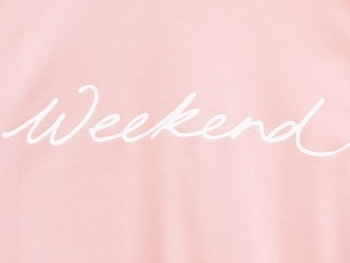 Chalk UK Robyn Top - Pink - Weekend