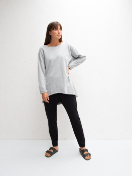 Chalk UK Layla Top - Grey  AVAILABLE TO PRE-ORDER FOR JUNE DELIVERY