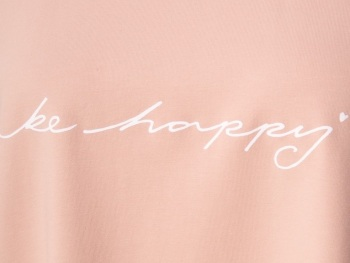 Chalk UK Robyn Top - Pink - Be Happy