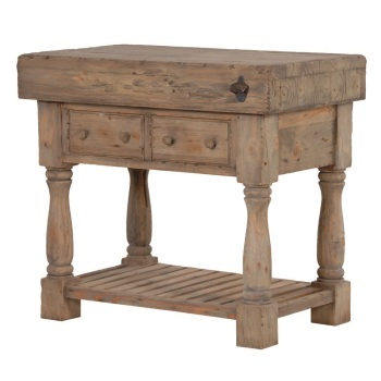 Vintage Style, Reclaimed Pine Butcher's Block AVAILABLE TO ORDER