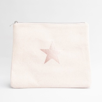 Chalk UK Wool Star Bag Large  - Pink