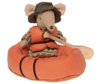 Maileg Mouse Rubber Boat