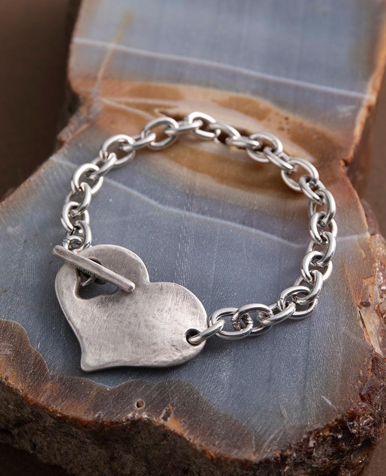 Danon Round Heart Bracelet