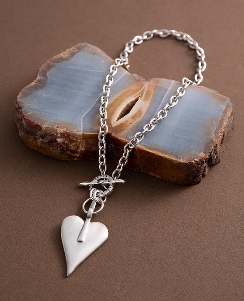 Danon Signature Heart Classic Necklace