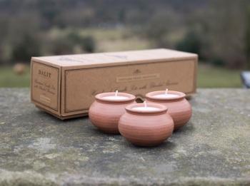 Dalit Karan Box of 3 Candles Lavender Scent