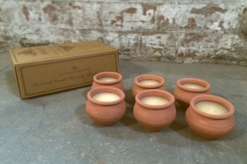 Dalit Murgan Box of 6 Candles Lavender Scent