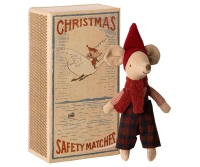 Maileg Christmas Mouse In Matchbox - Big Brother PRE-ORDER