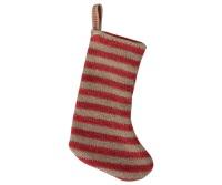 Maileg Mini Christmas  Stocking - Red/Sand