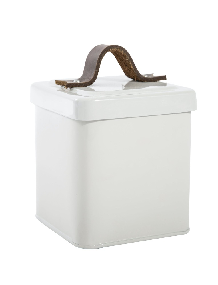 Garden Trading Treat Tin with Leather Handle