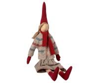 Maileg Medium Christmas Girl Pixy - No. 2