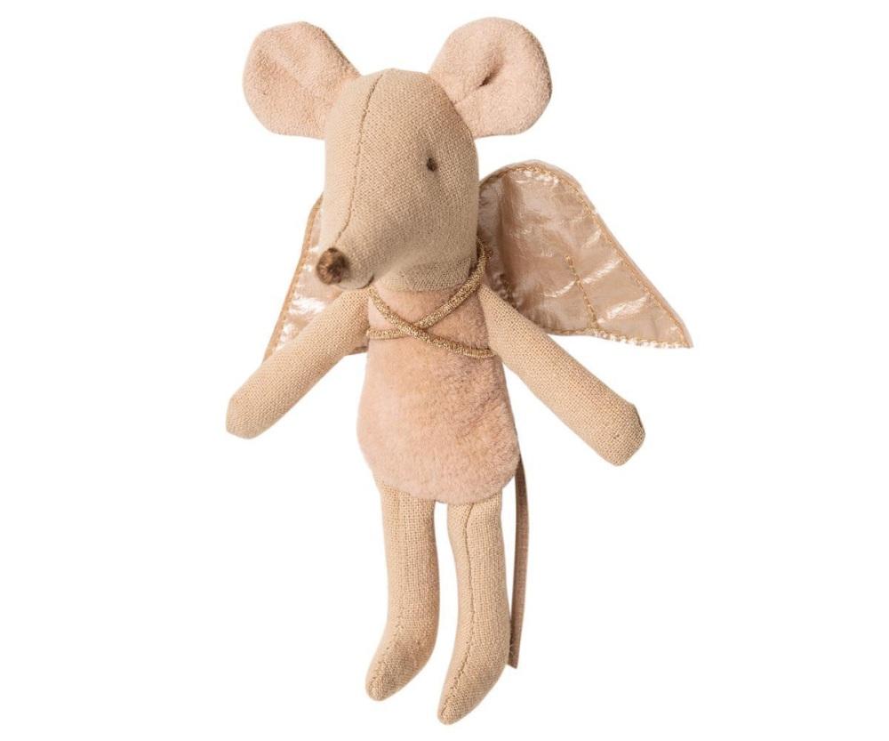 Maileg Little Sister Fairy Mouse - Cream
