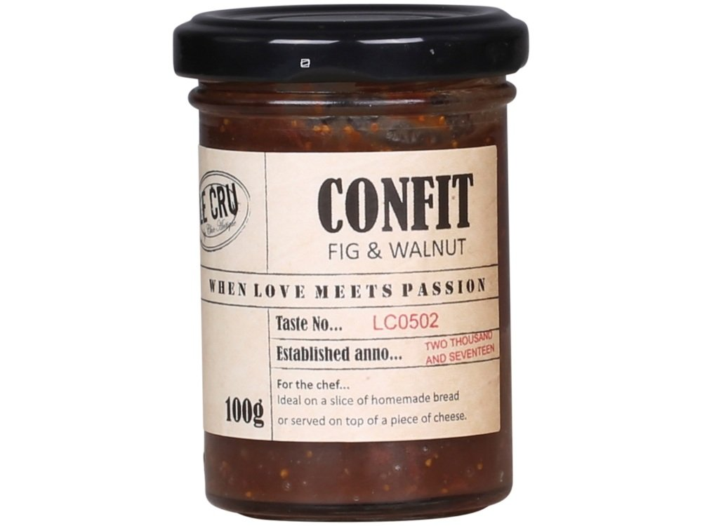 Confit with Fig and Walnut 100g