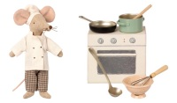 **Special Offer** Maileg Chef Mouse and Cooking Set
