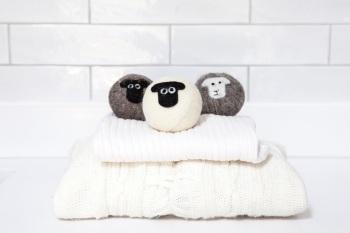 Little Beau Sheep Wool Dryer Balls - Pack of 3