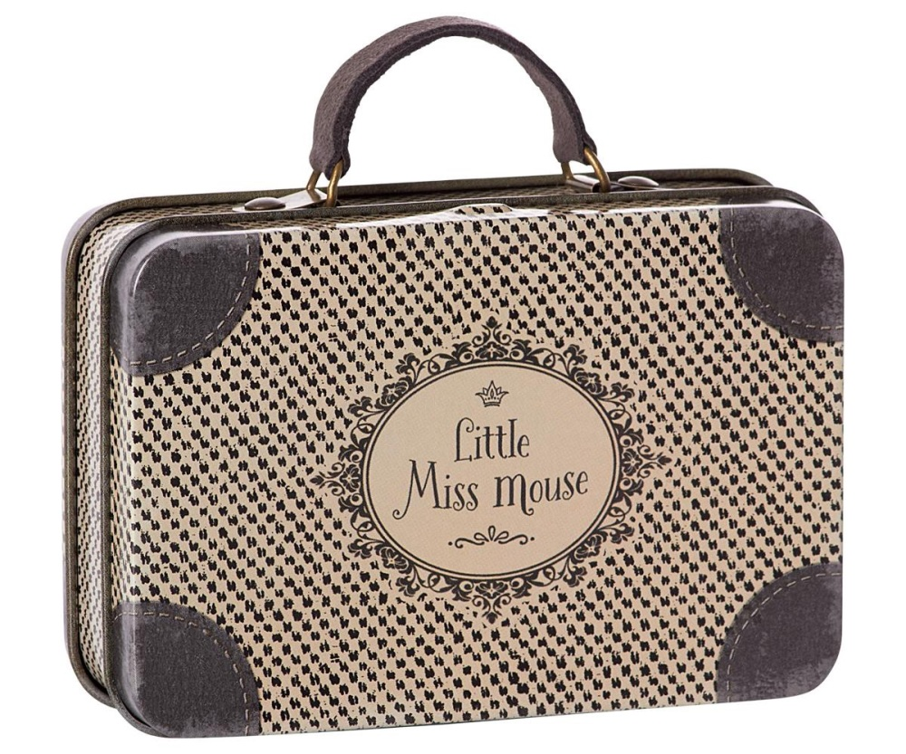 Maileg Little Miss Mouse Suitcase