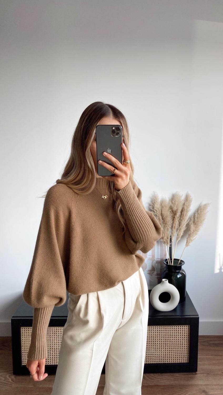 Sienna Jumper - Brown