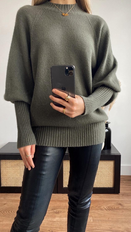 Sienna Sweater - Khaki