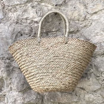 East of India Oval Basket