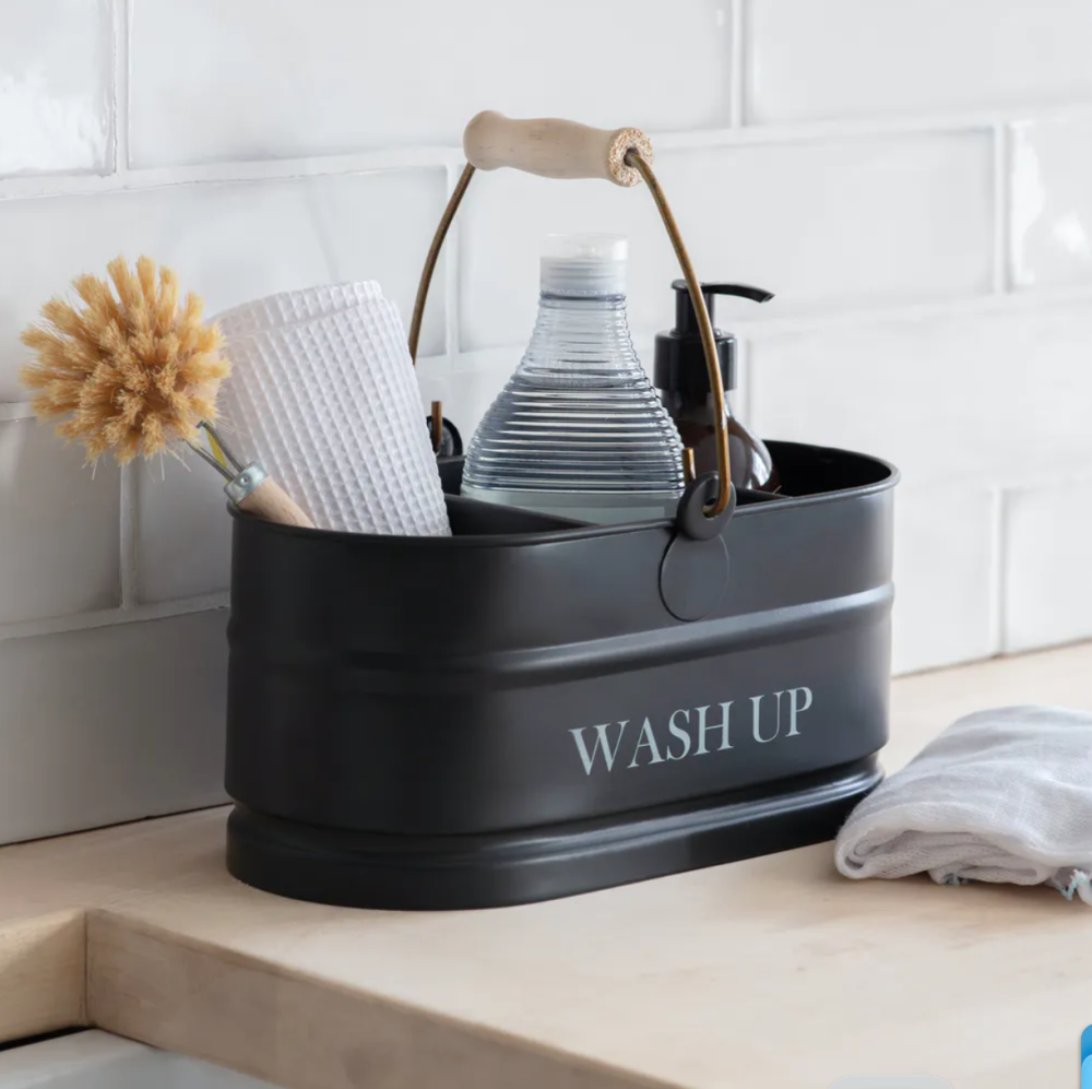Garden Trading Vintage Style Wash Up Bucket - Carbon