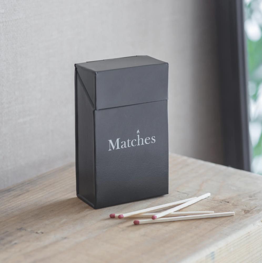 Garden Trading Match Box - Carbon
