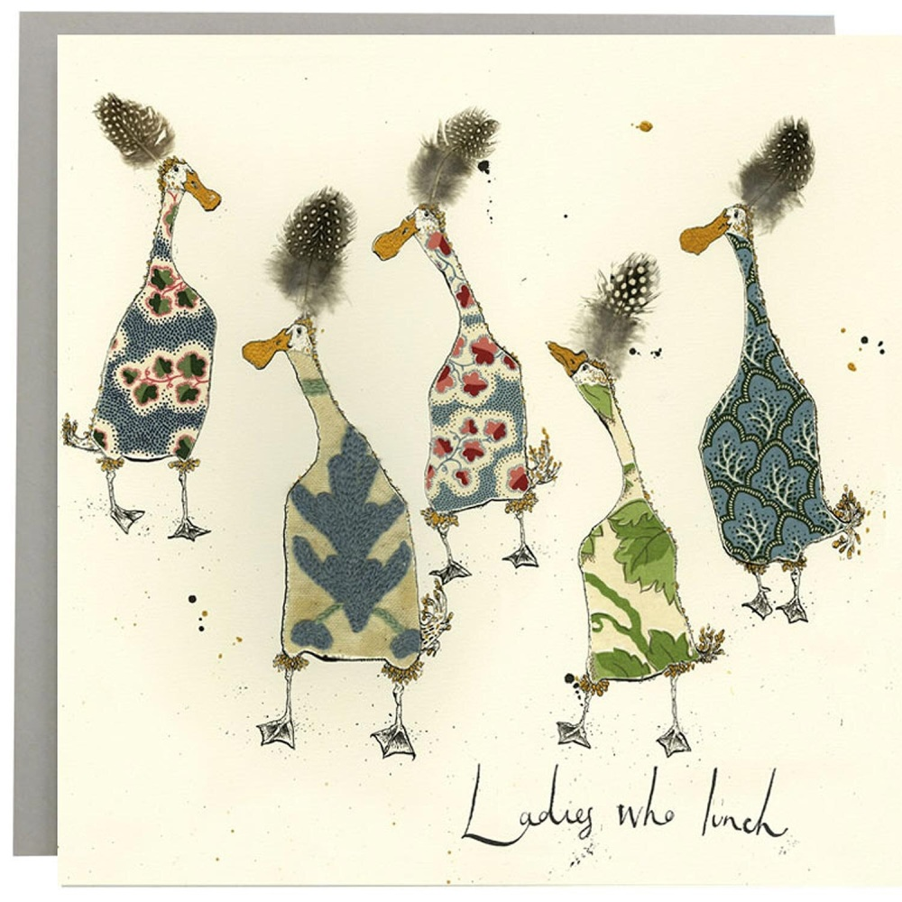 Anna Wright Card - Ladies Who Lunch