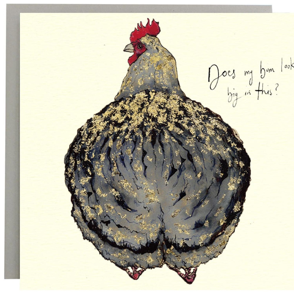 Anna Wright Card - Does My Bum Look Big in This?