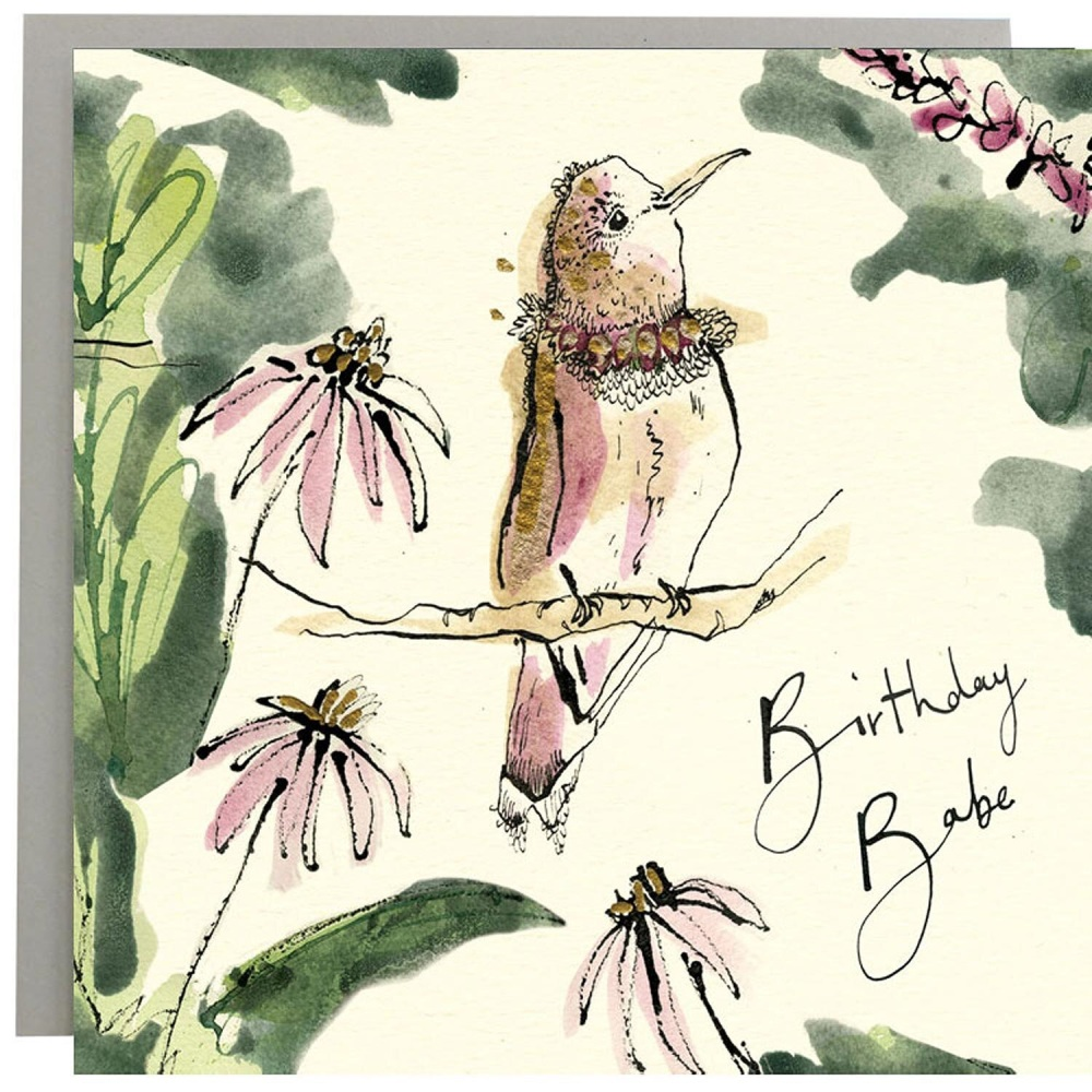 Anna Wright Card - Birthday Babe