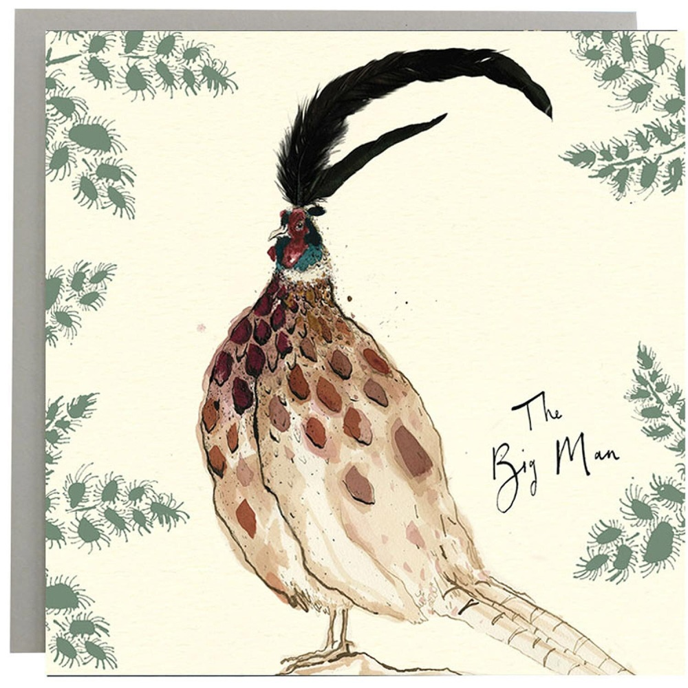 Anna Wright Card - The Big Man