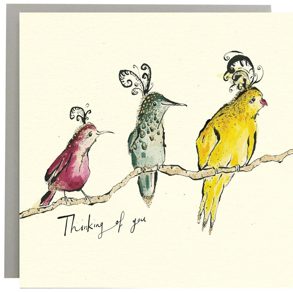 Anna Wright Card - Thinking of You