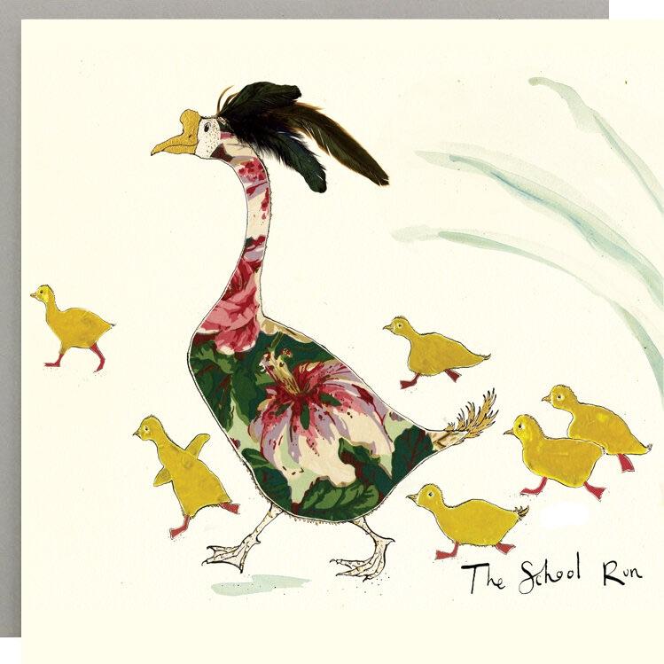 Anna Wright Card - The School Run
