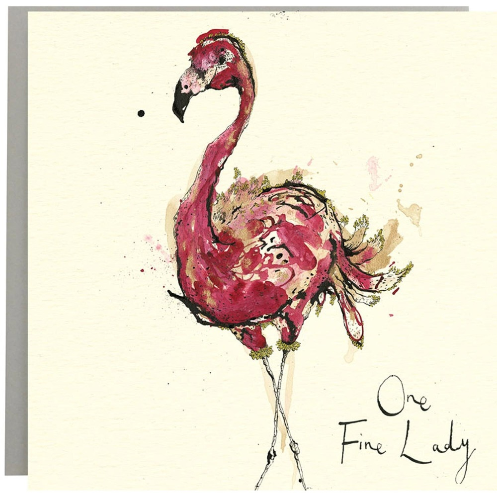 Anna Wright Card - One Fine Lady
