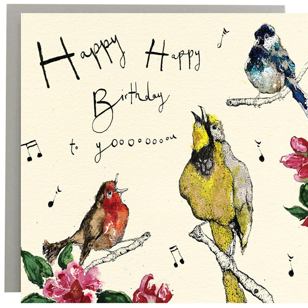 Anna Wright Card - Birthday Singsong