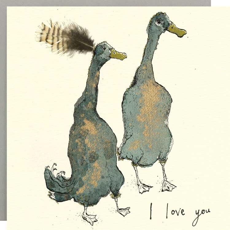 Anna Wright Card - I Love You