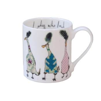 Anna Wright Boxed Mug - Ladies Who Lunch