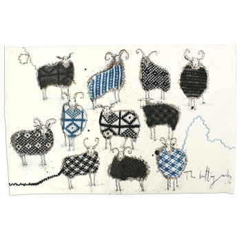 Anna Wright Tea Towel - The Knitting Circle
