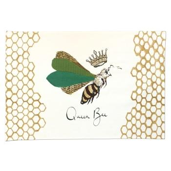 Anna Wright Tea Towel - Queen Bee