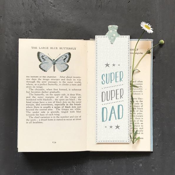 East of India Bookmark - Super Duper Dad