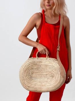 The Dylan Crossbody Basket - Large