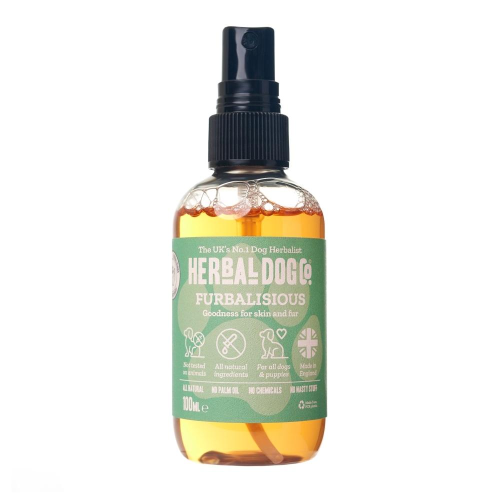 Herbal Dog Co Natural Dog & Puppy Cologne Perfume Deodoriser - Orange & Ber