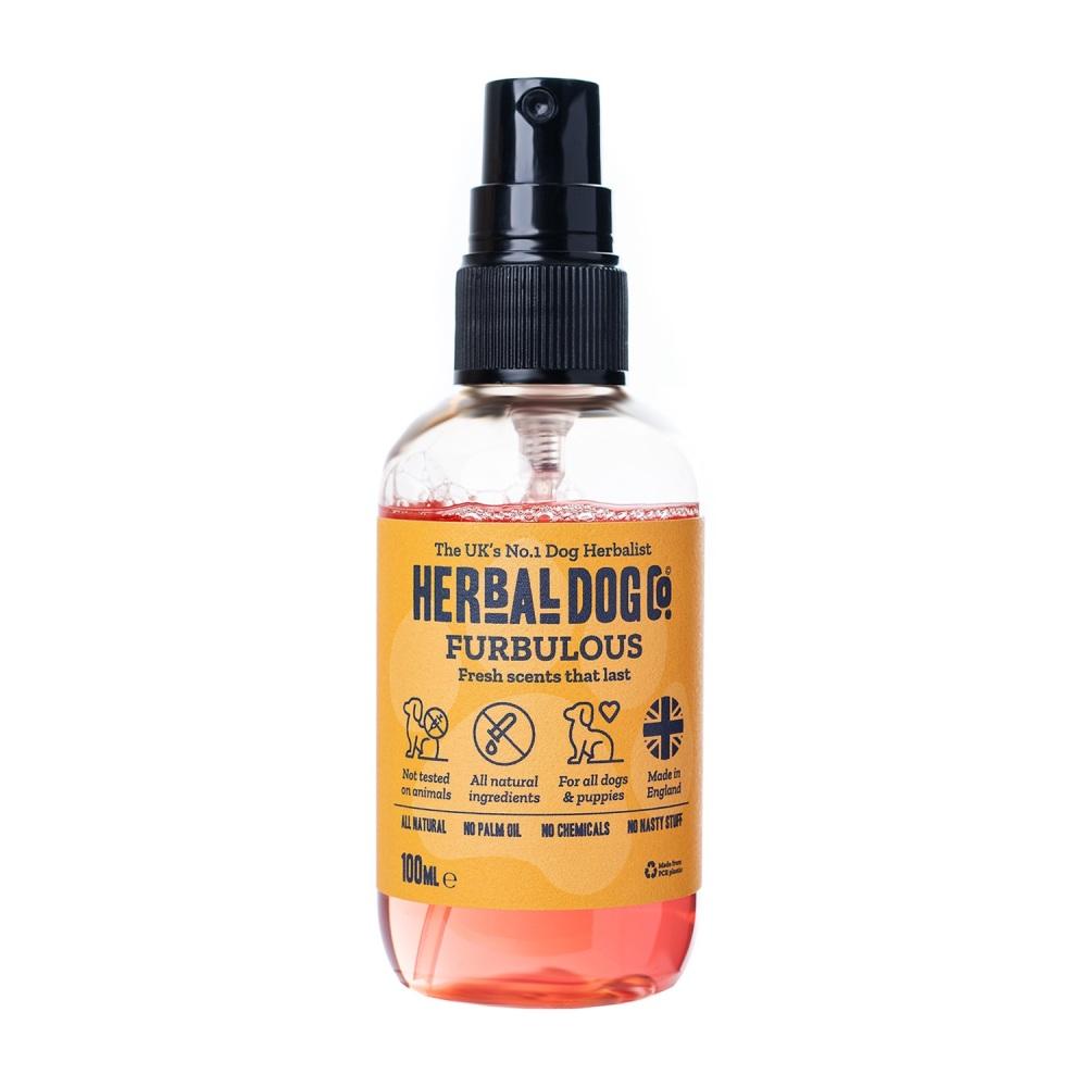 Herbal Dog Co Natural Dog & Puppy Cologne Perfume Deodoriser - Peach