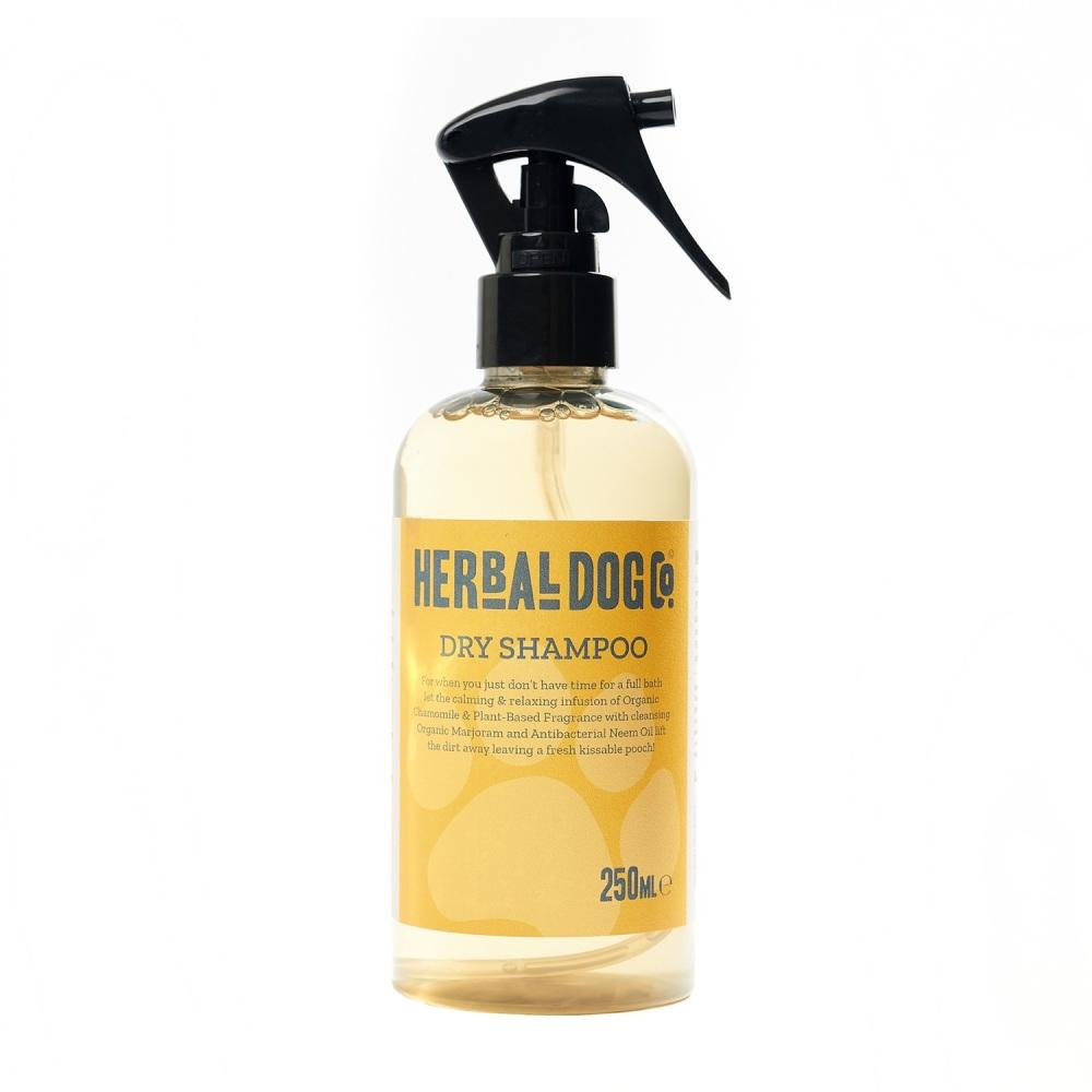 Herbal Dog Co Natural Dog & Puppy Natural Dry Shampoo - Baby Powder