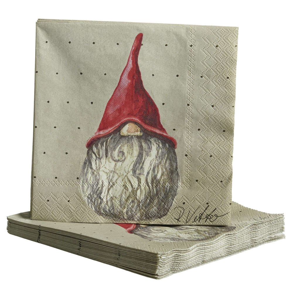 Naasgransgarden Santa Elmer & Max Paper Napkins