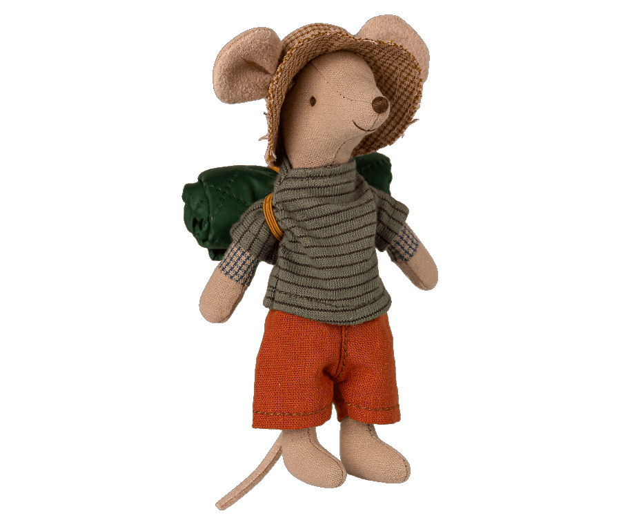 Maileg Hiker Mouse - Big Brother
