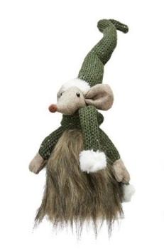 Christmas Ziggy Mouse Tomte Green