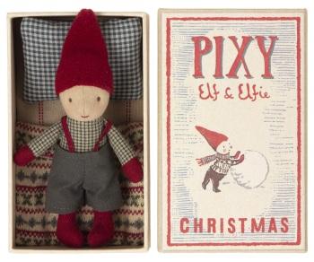 Maileg Christmas Elf in Matchbox 2021