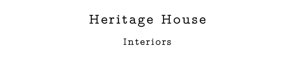 Heritage House Interiors, site logo.