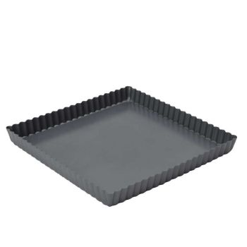 Dexam Square Flan Pan Loose Bottom 23cm 9""