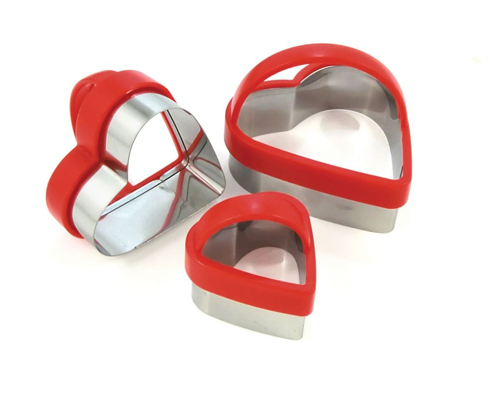 Heart Cutters Set of 3