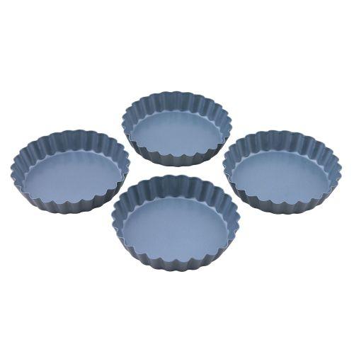 Dexam Set of 4 Non Stick Tartlet Pans 10cm
